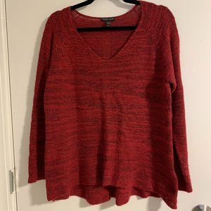 Eileen Fisher Wool/Cashmere Long Sleeve Sweater